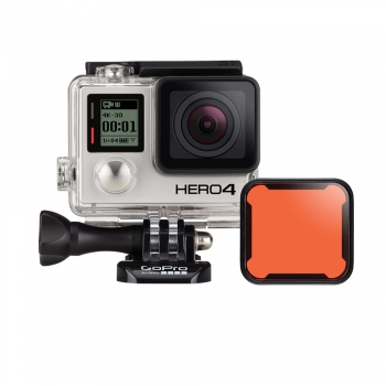 Dive filter Red for dive housing (HERO3+)