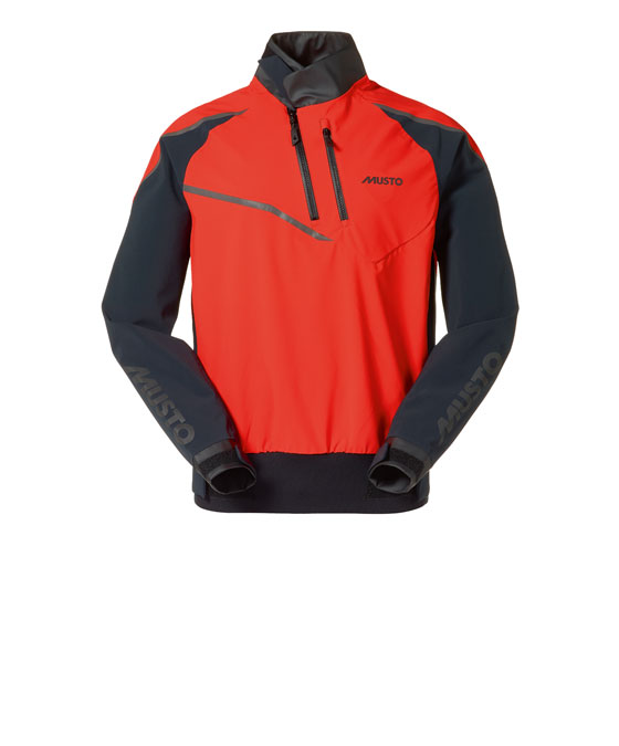 Spraytop Musto Smock m. 4-way-strech, Fire Orange, large