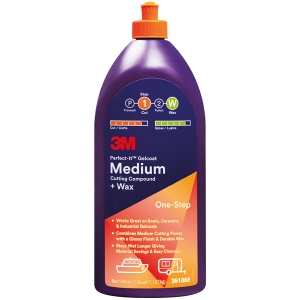 3M glasfiber cleaner & vax, medium