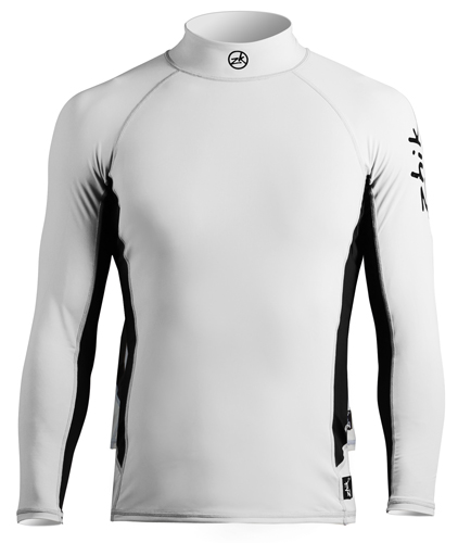 Top Zhik, spandex m. lange ærmer, men