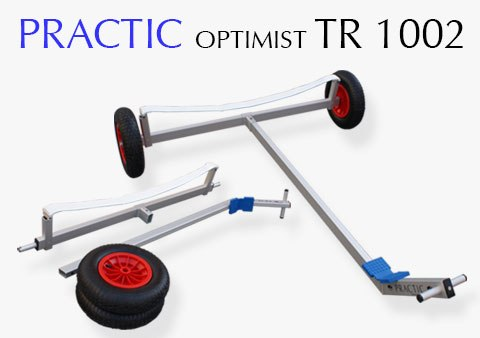 Optimist jollevogn Practic model TR-1002