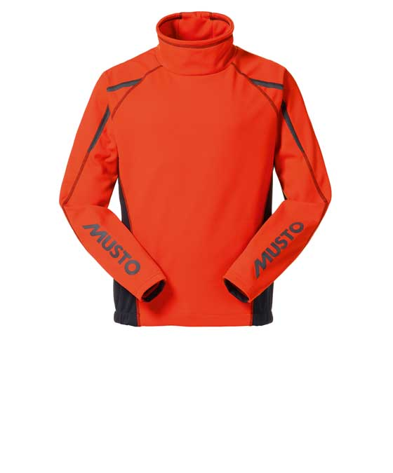 Top Musto SoftShell Aqua Top Junior medium FireOrange